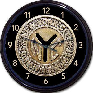 New York City Transit Clock