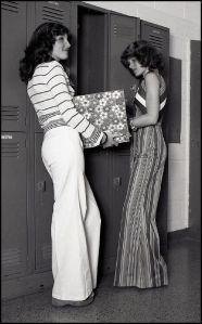 1970s Dress in School