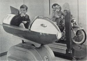 Space Rocket Ride at Woolworth's