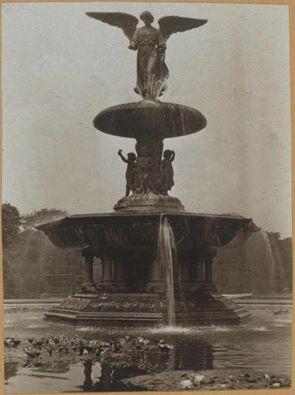 1928 Bethesda Fountain in Central park