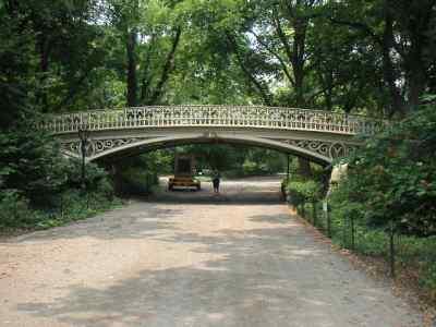 86th street bridge over reservoir