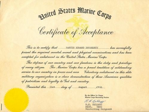 usmc acceptance 123161